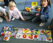 needle felting in the school